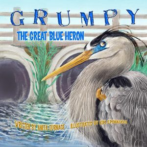 Grumpy The Great Heron